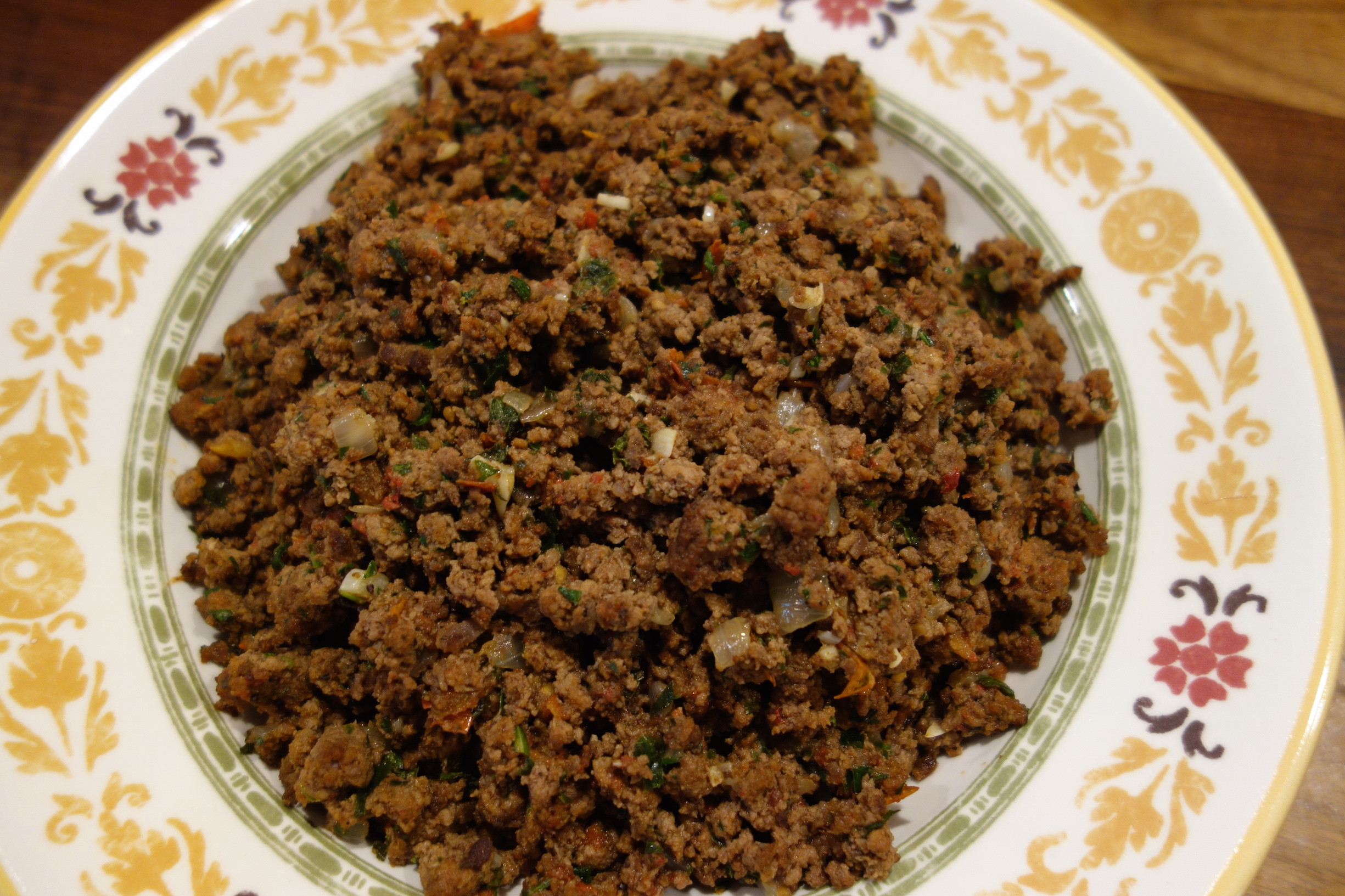 Middle Eastern Ground Beef Recipes  ground beef pita pockets