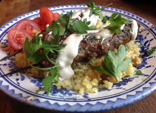 Middle Eastern Ground Lamb Recipes  middle eastern ground lamb kebab recipe