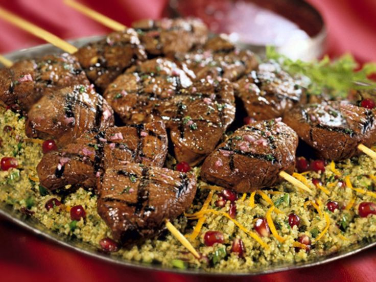 Middle Eastern Ground Lamb Recipes  Middle Eastern Lamb Kebabs Recipe — Dishmaps