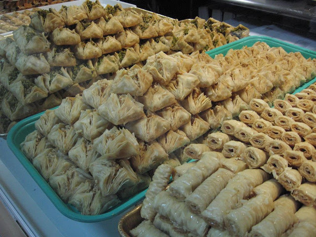 Middle Eastern Pastries  New York City Daily Middle Eastern Pastries