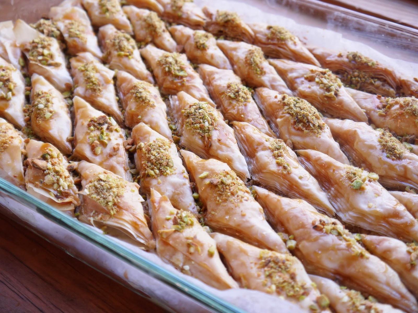 Middle Eastern Pastries  Bint Rhoda s Kitchen The Jewel of Middle Eastern Pastries