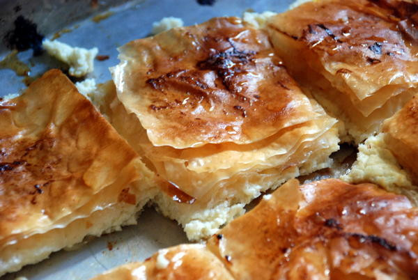 Middle Eastern Pastries  Mutabbaq – Middle Eastern Cheese Pastry