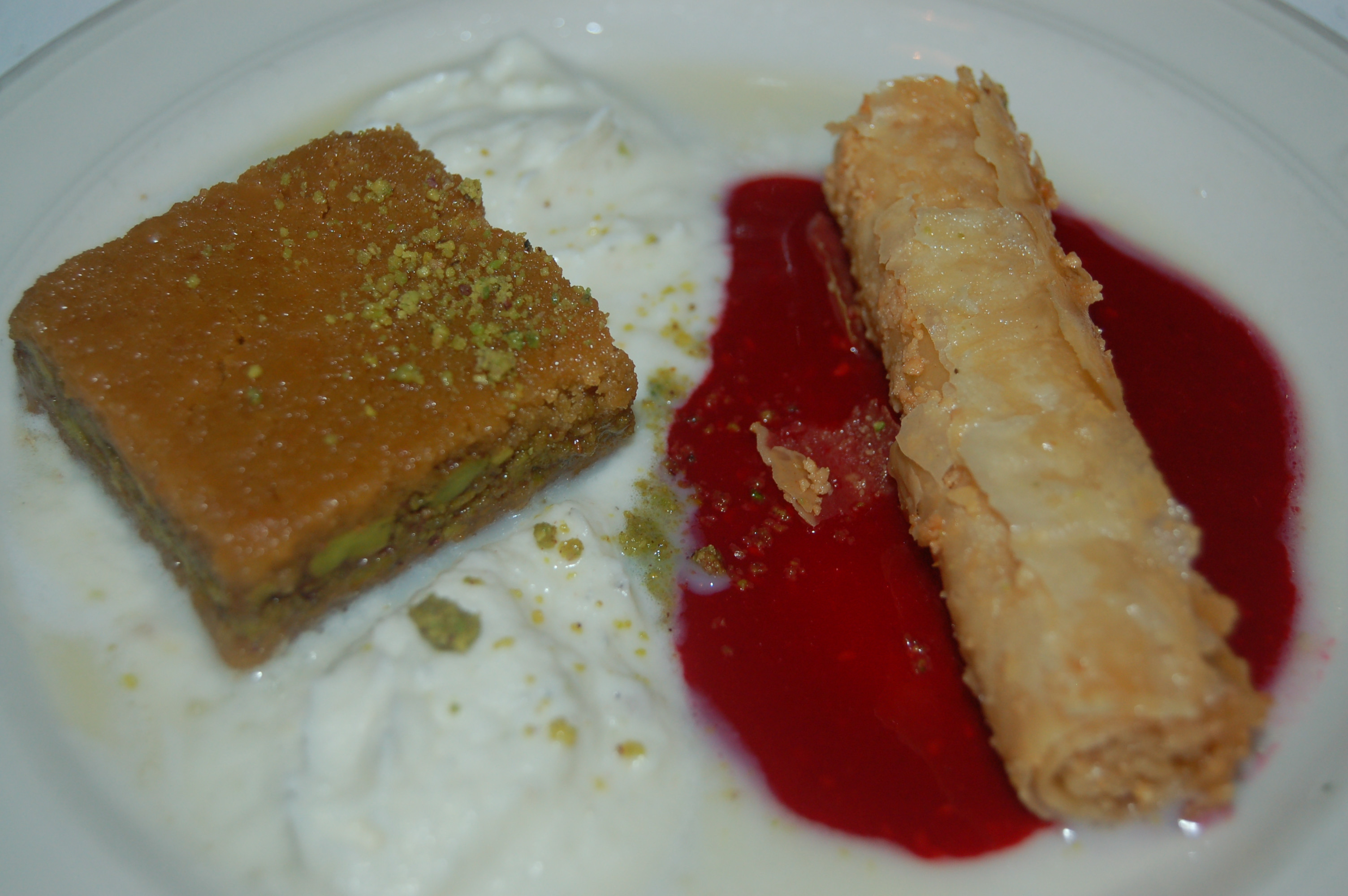 Middle Eastern Pastries  A Weekend in Baltimore & A Great Afghan Dinner at The