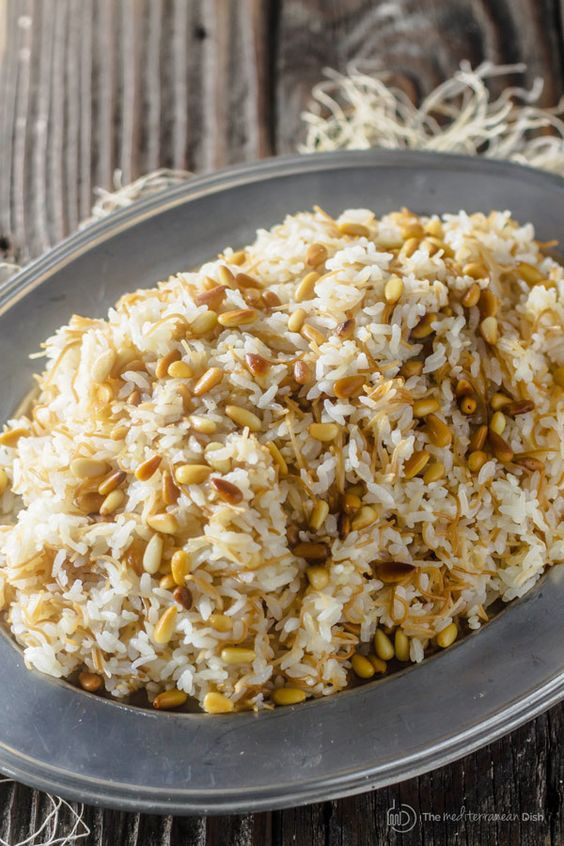 Middle Eastern Rice Pilaf Recipes  Pinterest • The world's catalog of ideas