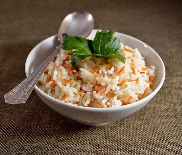 Middle Eastern Rice Pilaf Recipes top 20 Sew French Rice Pilaf with toasted orzo