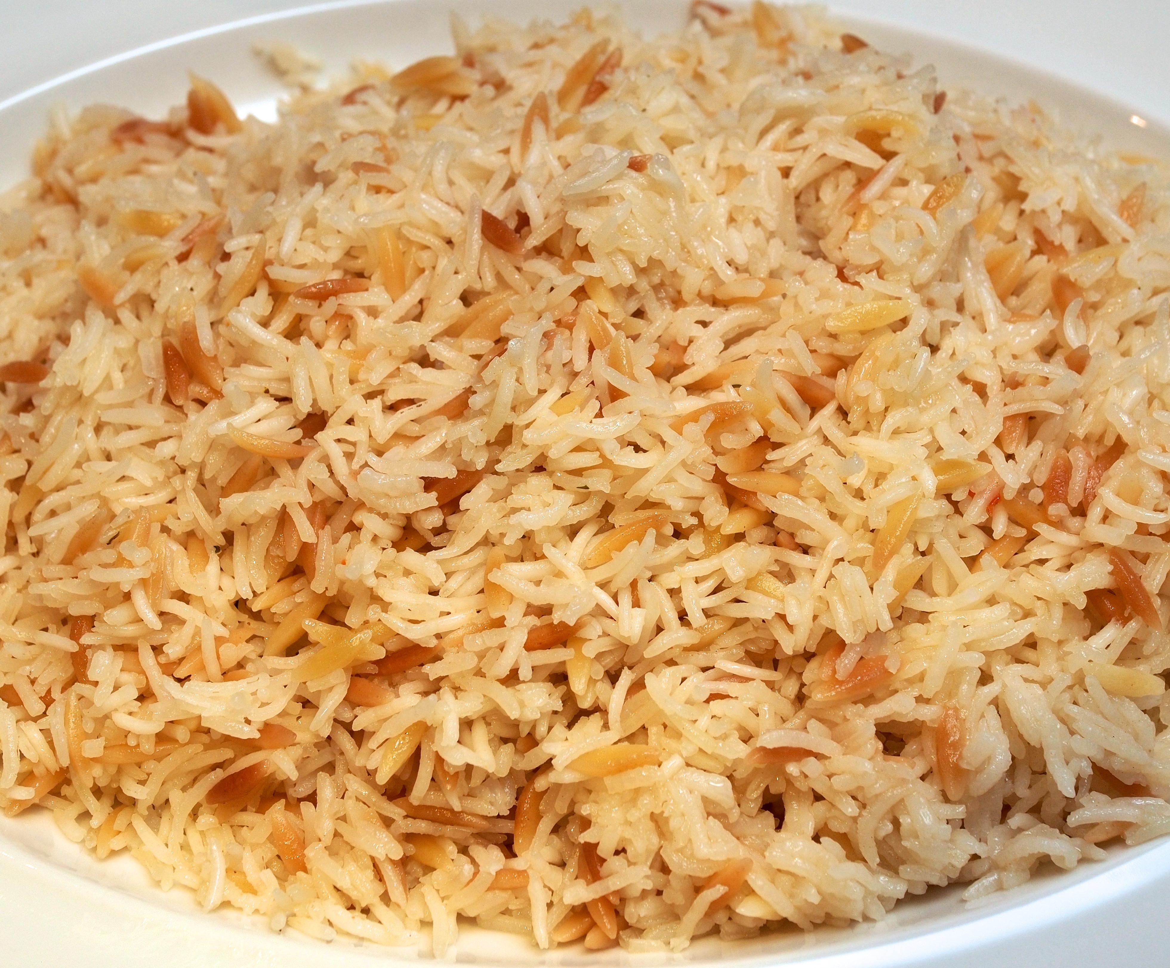 Middle Eastern Rice Recipes  Basmati Rice & Orzo