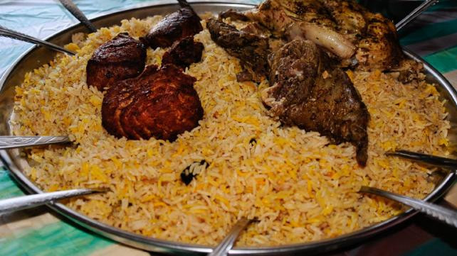 Middle Eastern Rice Recipes  Middle East recipe Saudi lamb with rice
