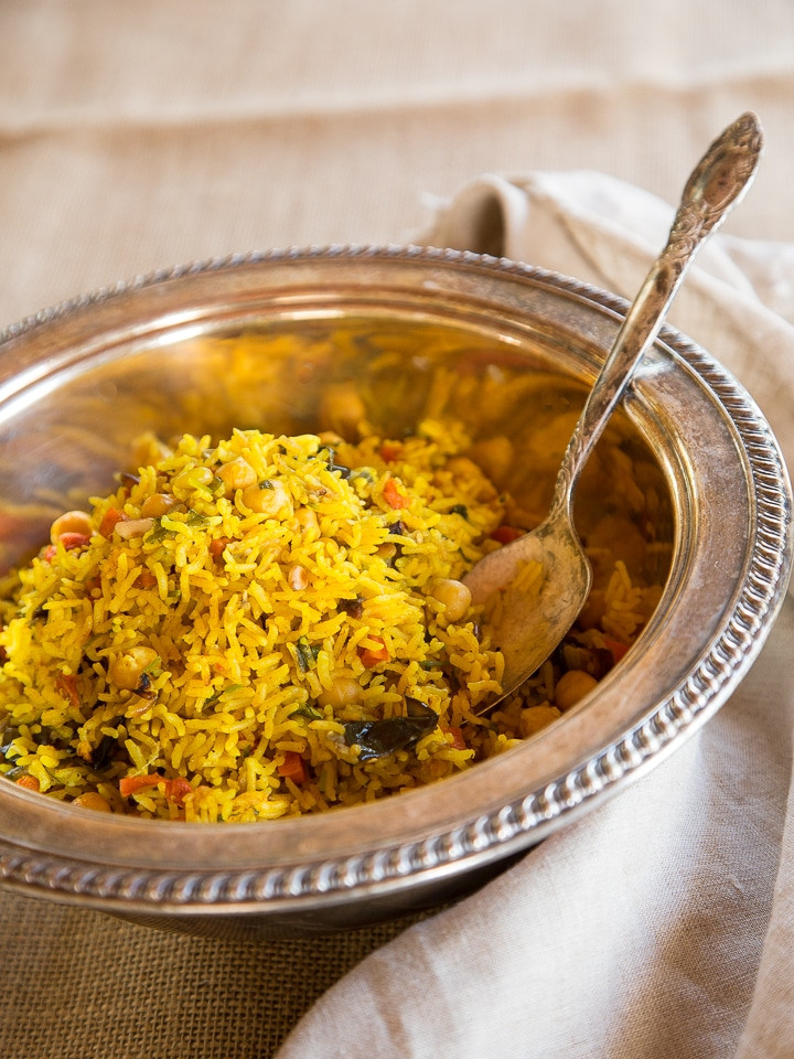 Middle Eastern Rice Recipes  Middle Eastern Roasted Ve able Rice Healthy Vegan Dish