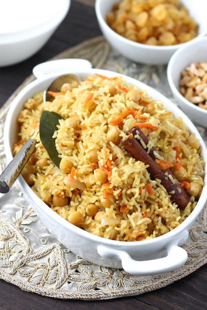 Middle Eastern Rice Recipes  Bukhari Rice