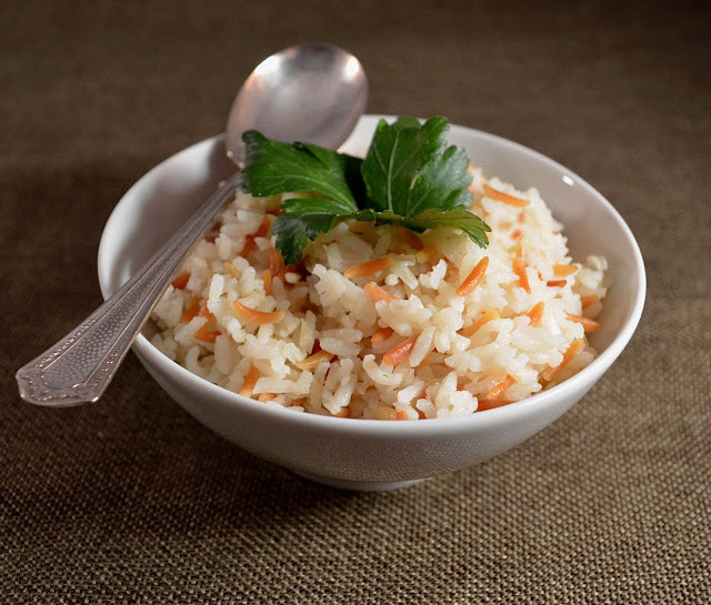 Middle Eastern Rice Recipes  Jilly Inspired Middle Eastern Rice Pilaf with Toasted Orzo