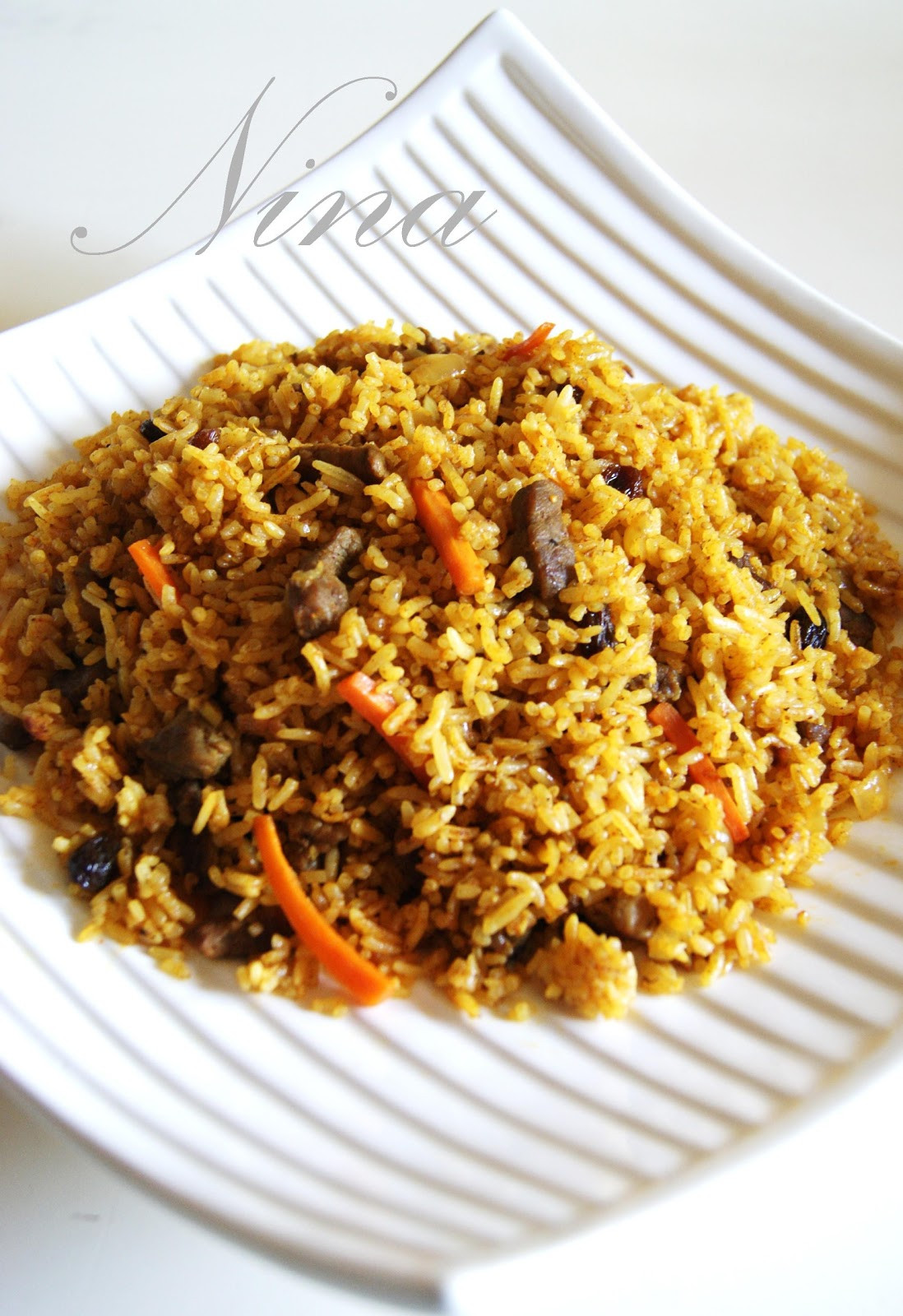 Middle Eastern Rice Recipes  NINA S RECIPES MIDDLE EASTERN STYLE RICE
