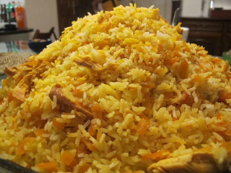 Middle Eastern Rice Recipes  Middle eastern carrot chicken and rice