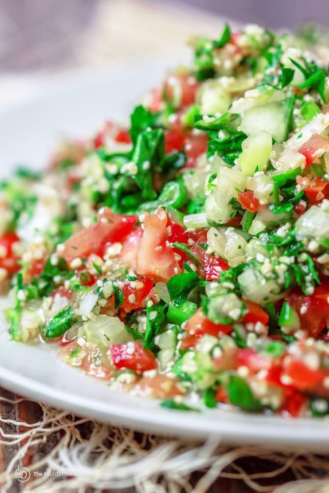 Middle Eastern Salad Recipes  Tabouli Salad Recipe Tabbouleh