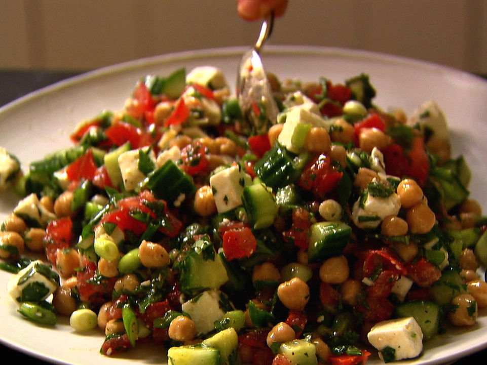 Middle Eastern Salad Recipes  Middle Eastern Ve able Salad