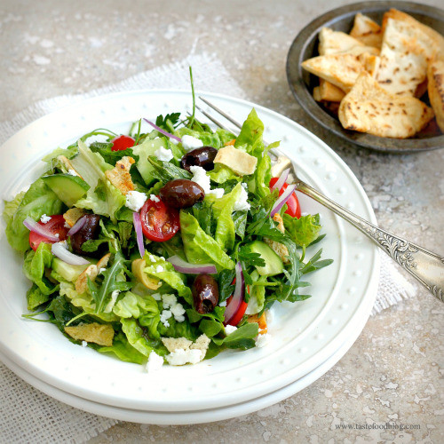 Middle Eastern Salad Recipes  Middle Eastern Fattoush Salad