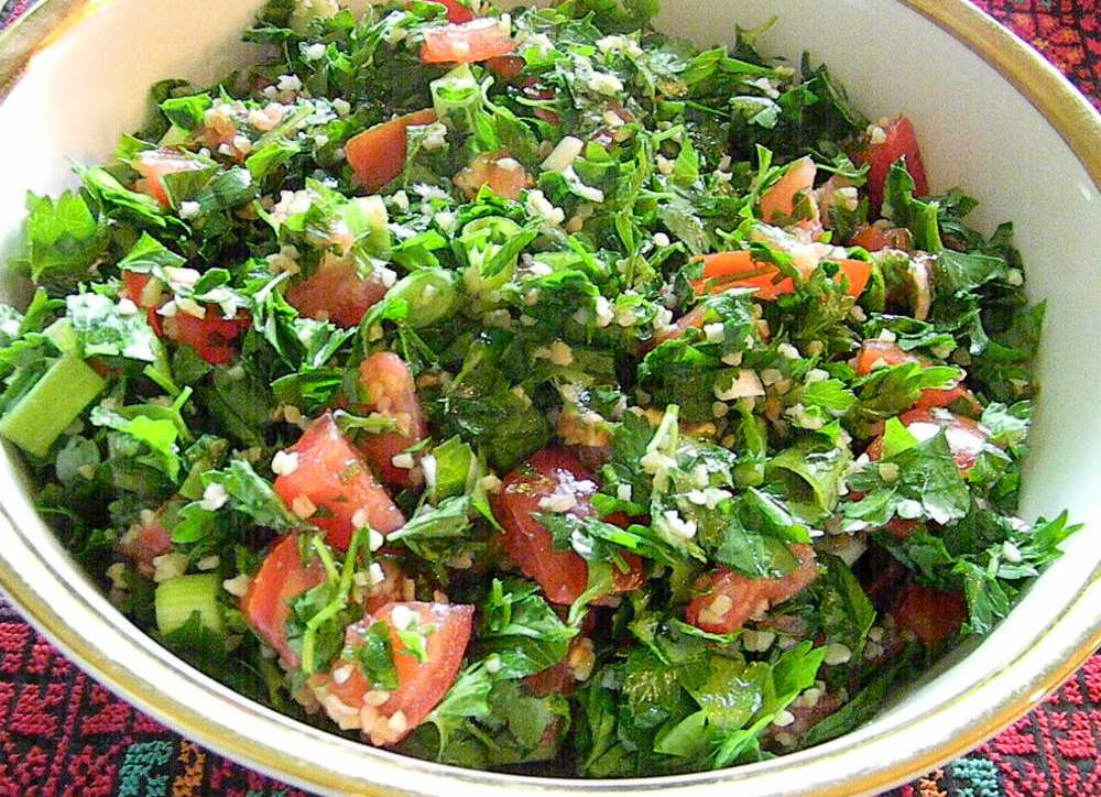 Middle Eastern Salad Recipes  Middle Eastern Salad Recipe — Dishmaps