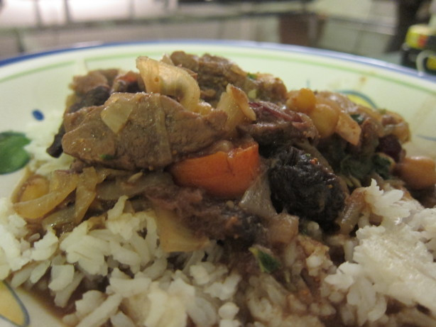 Middle Eastern Slow Cooker Recipes  Middle Eastern Slow Cooked Stew With Lamb Chickpeas And