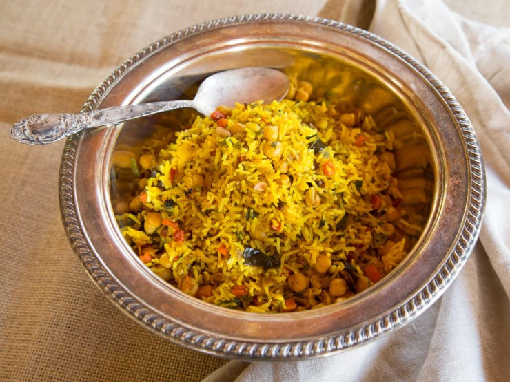Middle Eastern Vegetarian Recipes  Middle Eastern Roasted Ve able Rice Healthy Vegan Dish