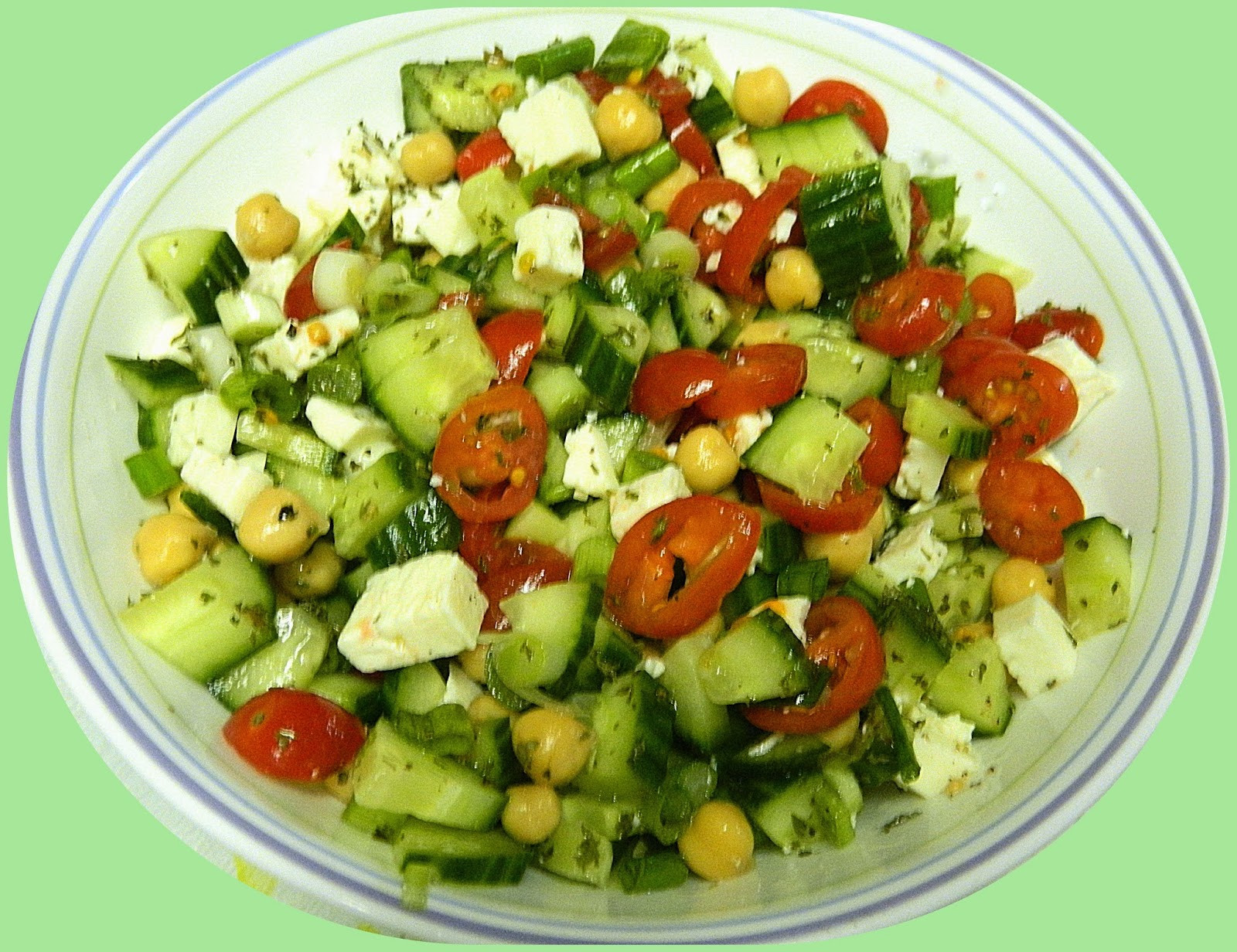 Middle Eastern Veggie Recipes  Middle Eastern Ve able Salad Ina Fridays Ina Garten