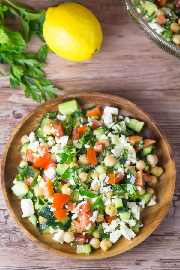 Middle Eastern Veggie Recipes  Middle Eastern Ve able Salad Salu Salo Recipes