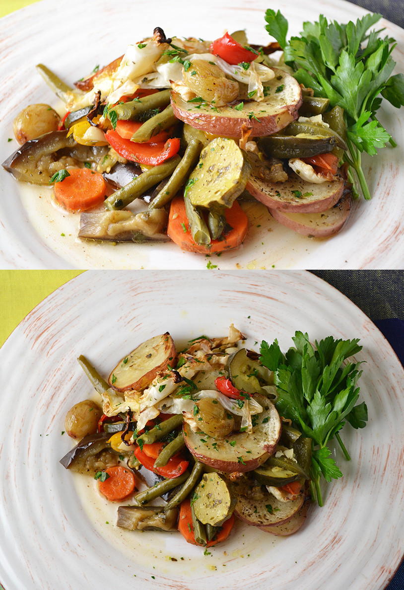 Middle Eastern Veggie Recipes  Middle Eastern Ve able Bake
