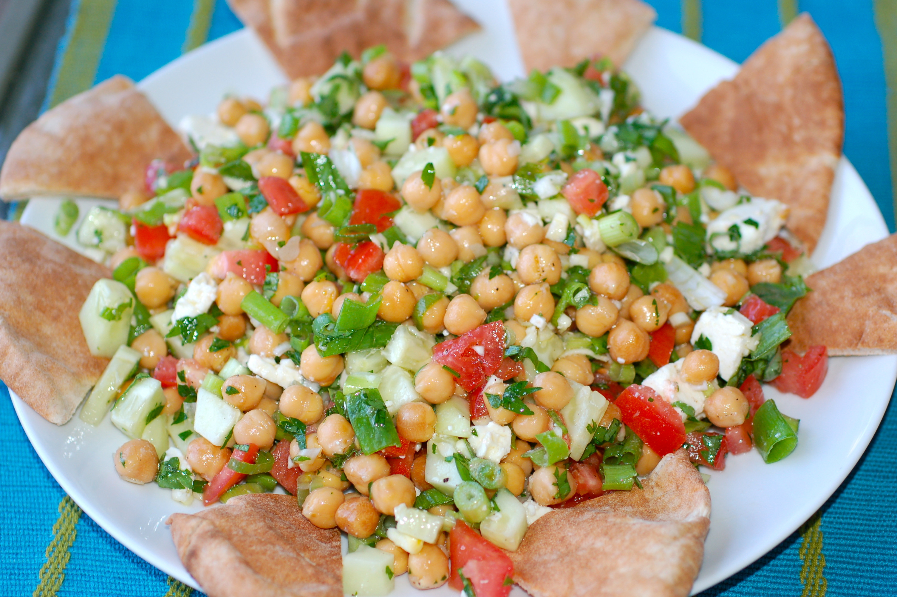 Middle Eastern Veggie Recipes  Middle Eastern Ve able Salad pulsive Foo