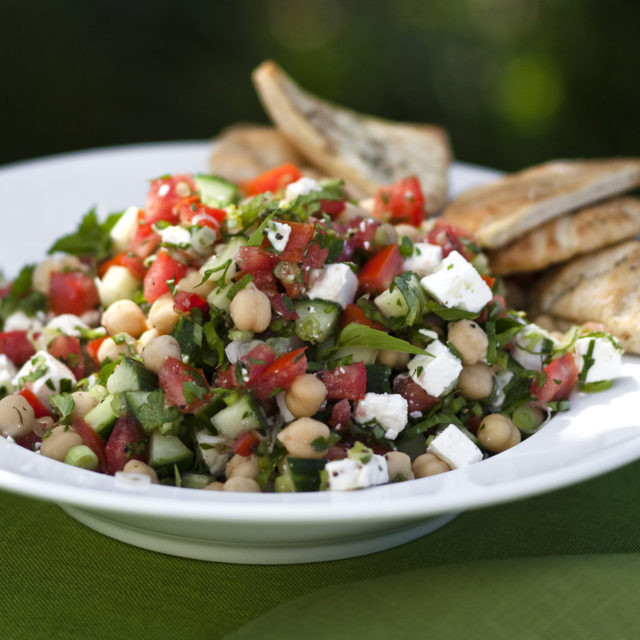 Middle Eastern Veggie Recipes  Middle Eastern Ve able Salad Recipes