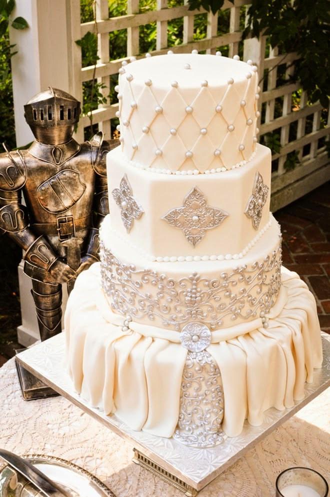 Midevil Wedding Cakes  Best Wedding Cakes of 2014 Belle The Magazine