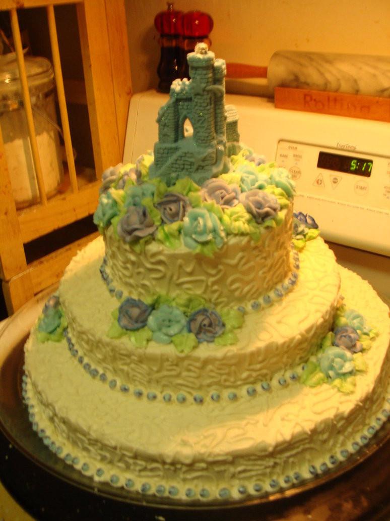 Midevil Wedding Cakes  Me val Wedding Cake 2 by LadyCrimsonRose on DeviantArt