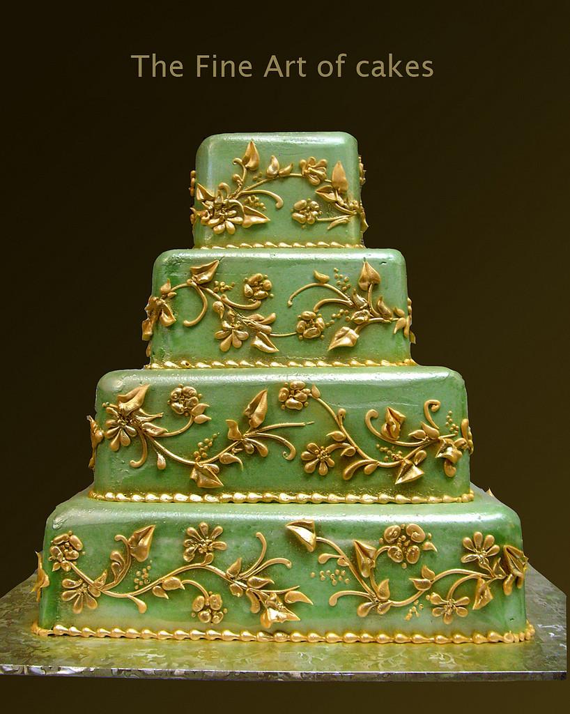 Midevil Wedding Cakes  Renaissance Wedding Cake