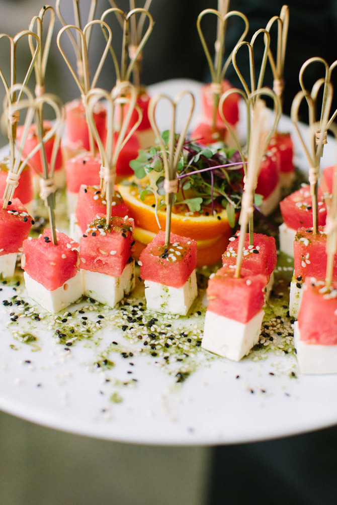Midnight Healthy Snacks  20 Fun Midnight Snack Ideas for Your Wedding