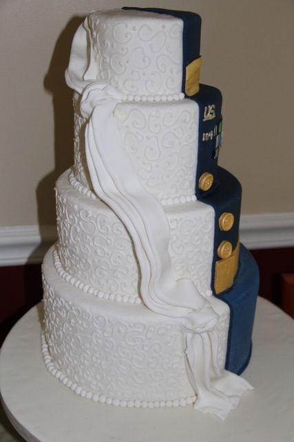 Military Wedding Cakes  Army wedding cake done by Kim Hagenbuch