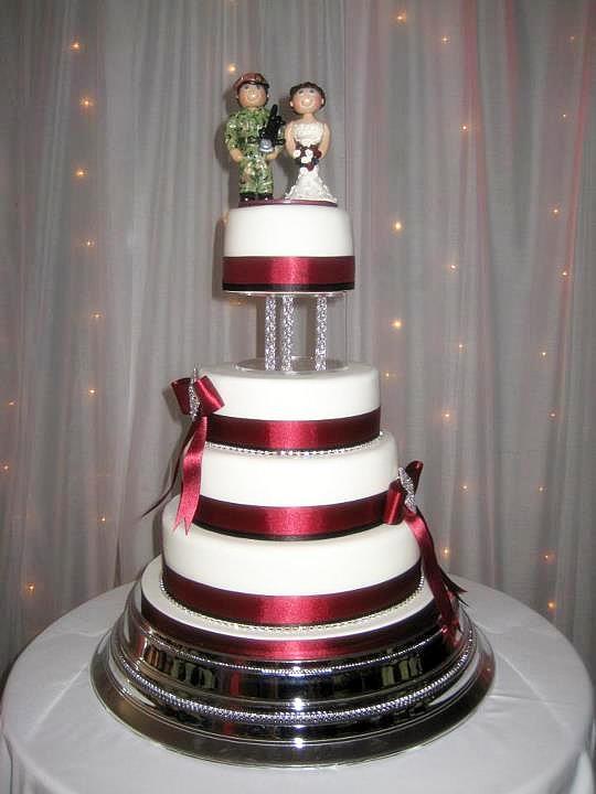 Military Wedding Cakes  military cake idea
