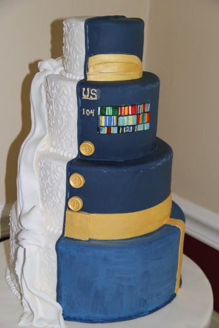 Military Wedding Cakes  25 best ideas about Army wedding cakes on Pinterest