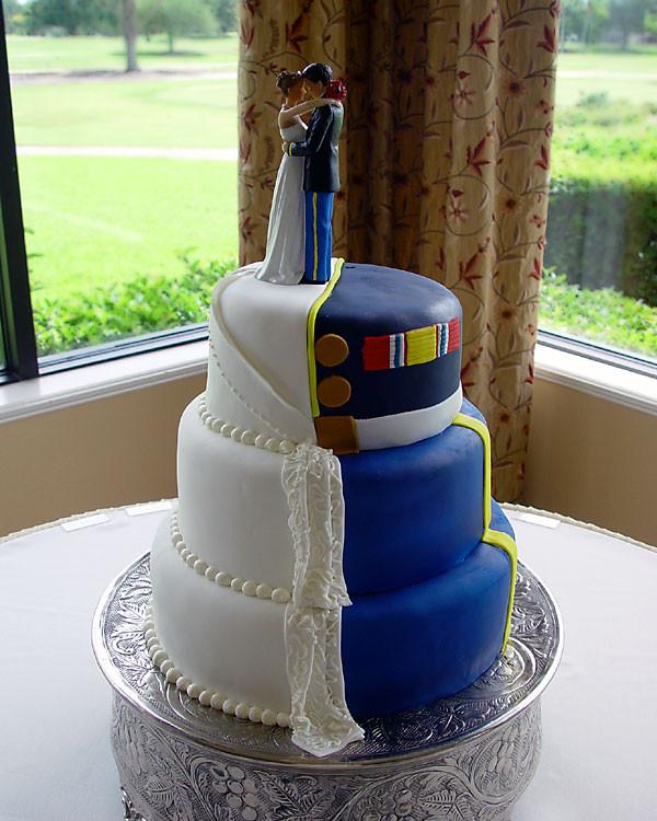 Military Wedding Cakes  Matt & Dom s custom wedding cakes birthday cakes novelty