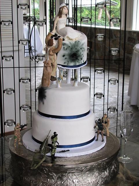 Military Wedding Cakes  Military Wedding Cake
