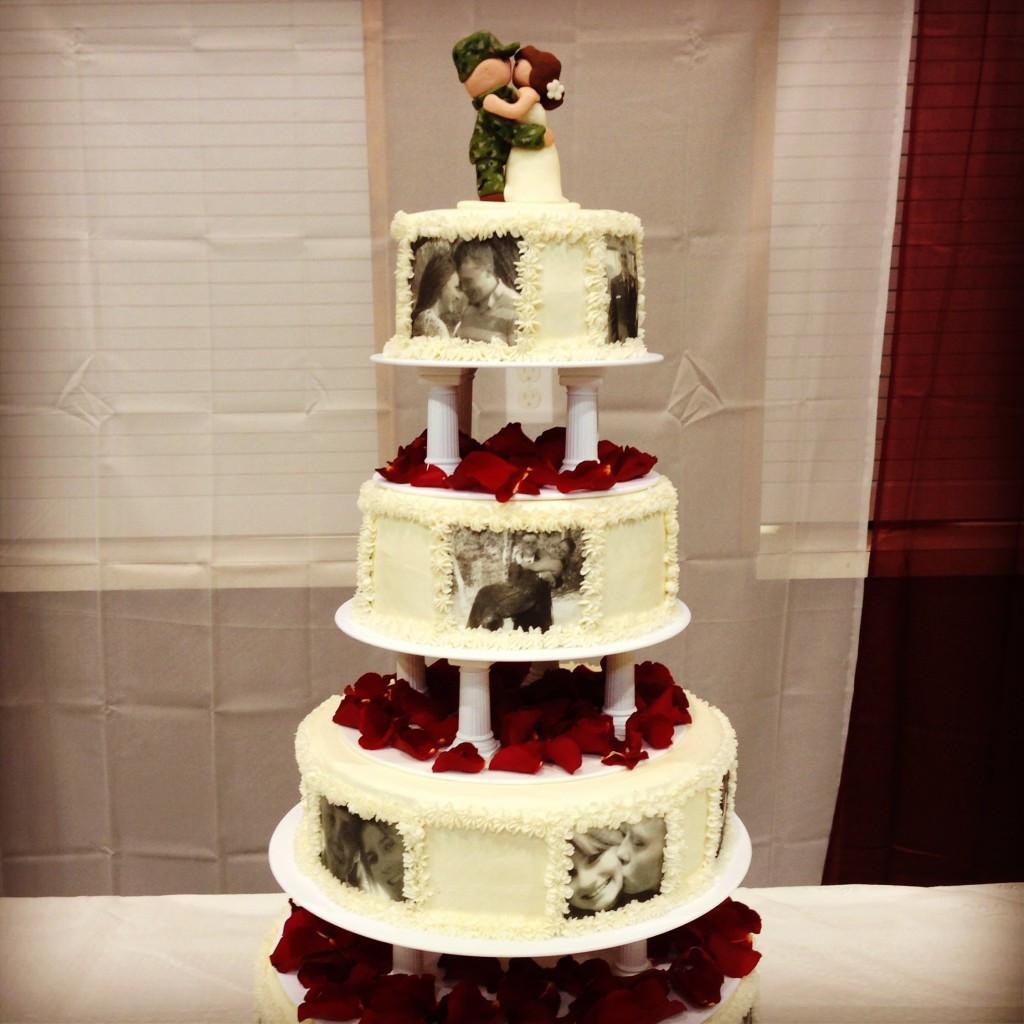 Military Wedding Cakes  Military theme wedding cake idea