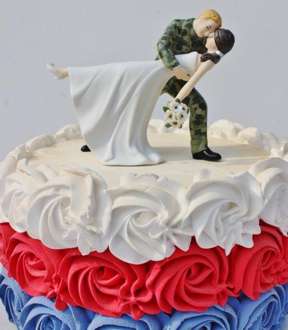 Military Wedding Cakes  Items similar to Military US Army Camo Sol r wedding
