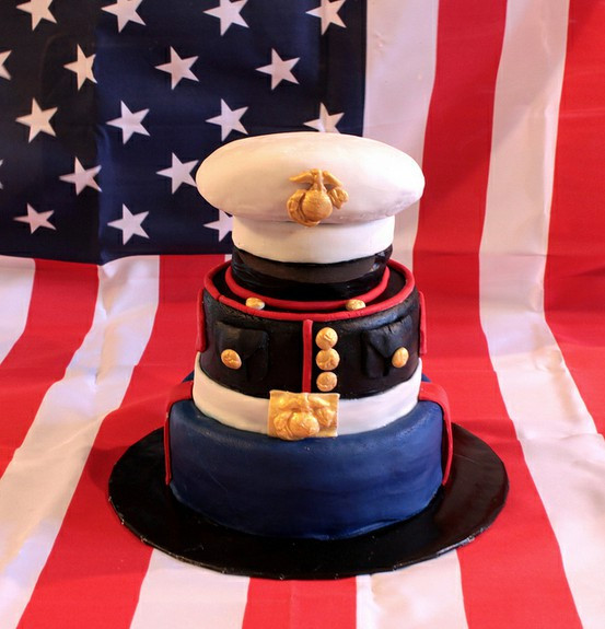 Military Wedding Cakes  Let Them Eat Cake At Your Wedding Military Wedding Cake