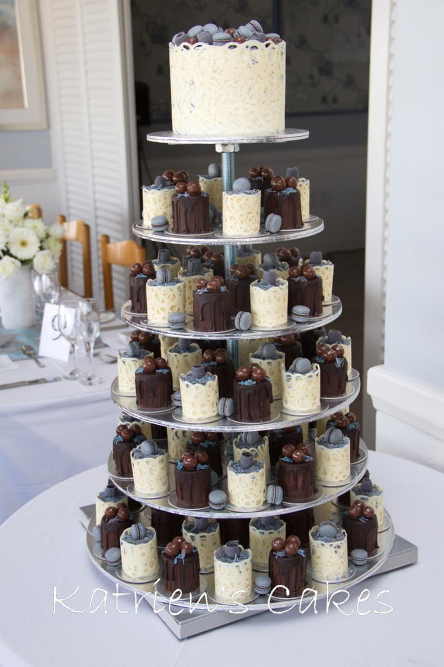 Mini Cakes For Wedding  Mini Cakes Wedding Cake CakeCentral
