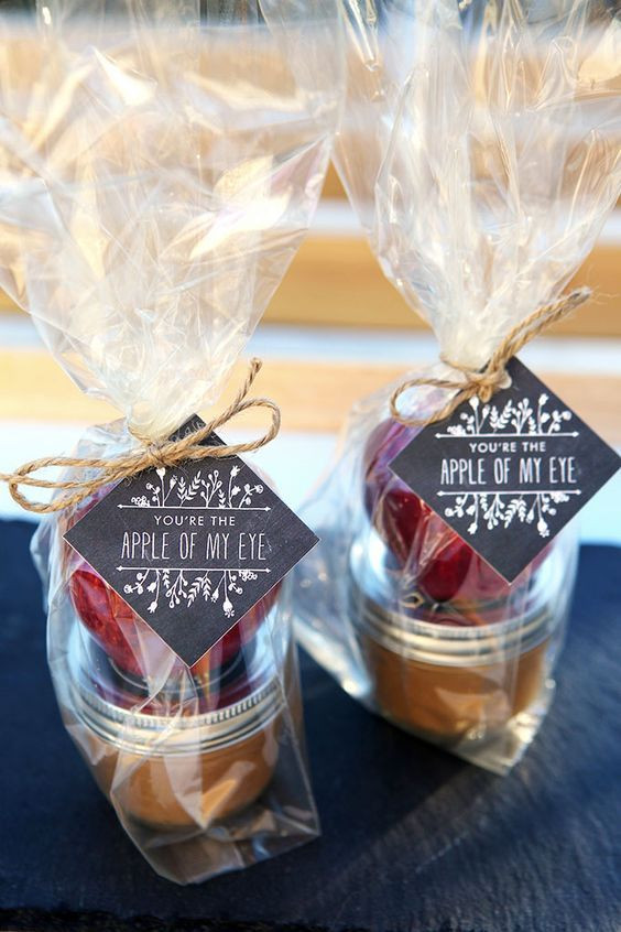 Mini Caramel Apples Wedding Favors  60 Elstile Long Wedding Hairstyles and Updos