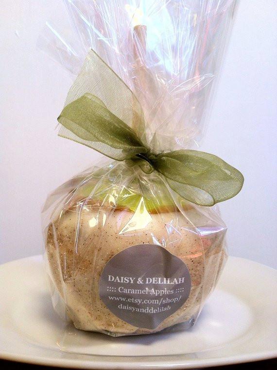 Mini Caramel Apples Wedding Favors  Items similar to 50 Apple Pie Caramel Apple Wedding Favors