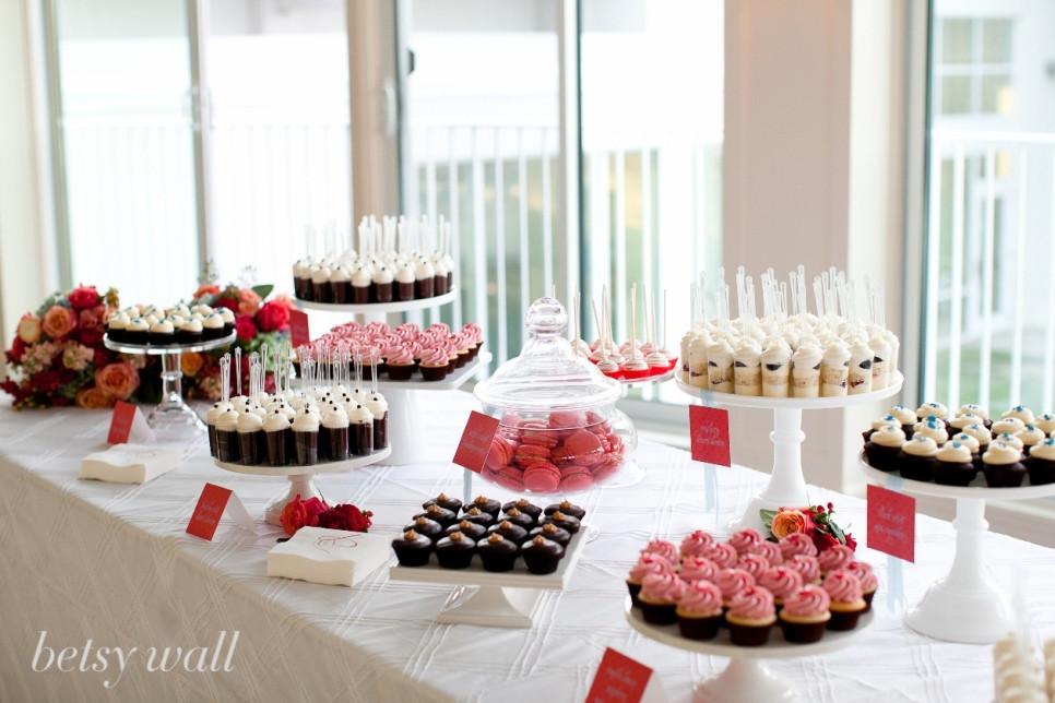 Mini Desserts For Wedding  cocoa & fig Miniature Dessert Table Jenn & Jason