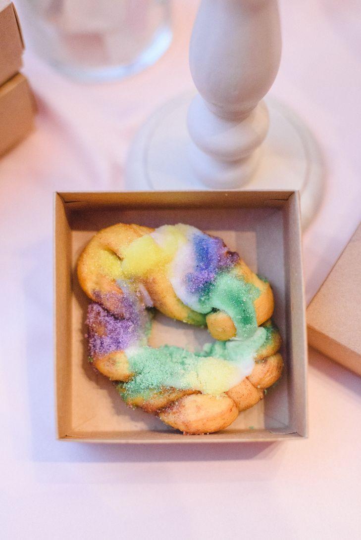 Mini King Cakes Wedding Favors  King Cake Favors