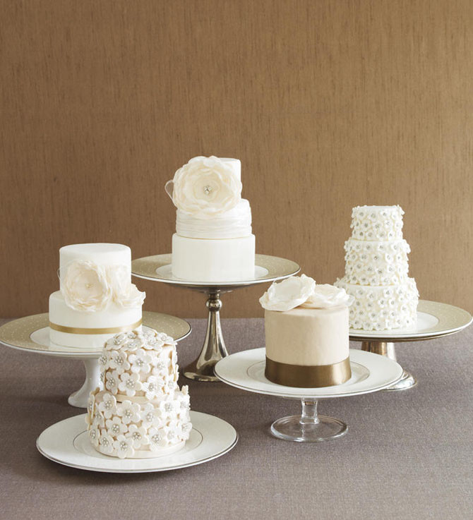Mini Wedding Cakes  The Most Charming Mini Wedding Cakes Ever