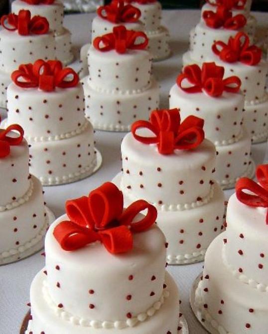 Miniature Wedding Cakes  Mini Wedding Cakes Archives Weddings Romantique
