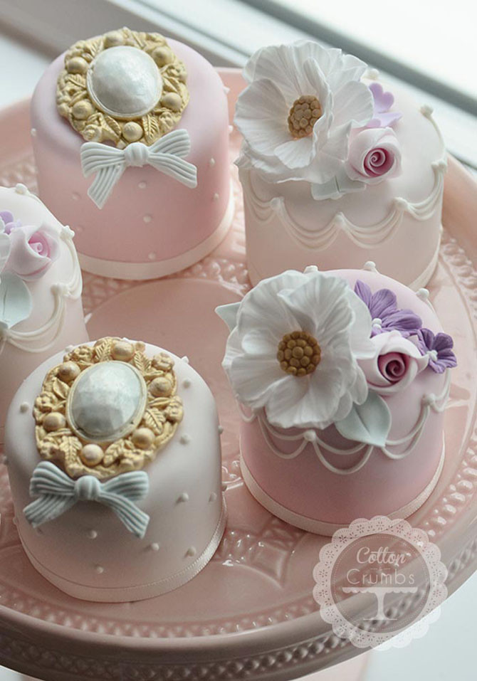 Miniature Wedding Cakes  The Most Charming Mini Wedding Cakes Ever