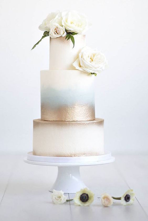 Modern Wedding Cakes  45 Classy And Elegant Wedding Cakes Graceful Inspiration