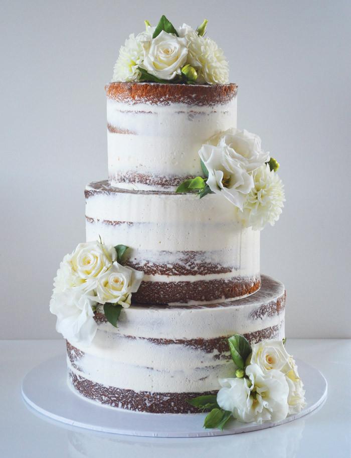 Modern Wedding Cakes  30 Simply Stunning White Wedding Cakes Modern Wedding