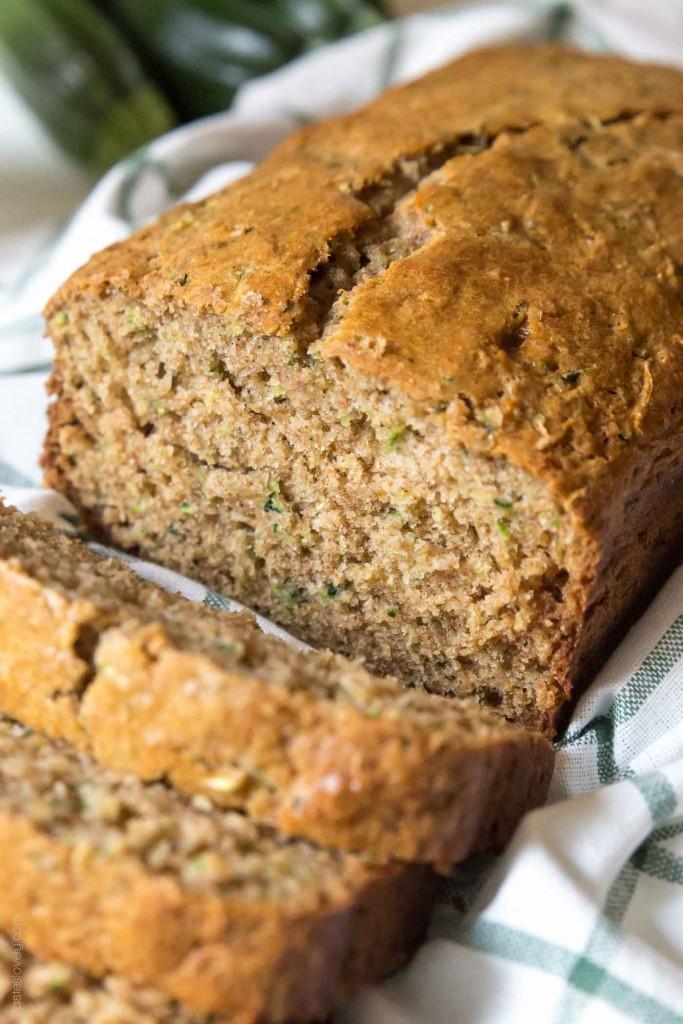 Moist Healthy Zucchini Bread Recipe  zucchini bread with coconut oil